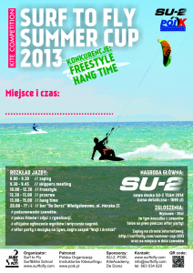 Surf To Fly Summer Cup 2013